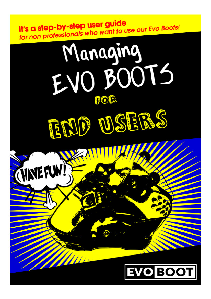 Bruger manual til EVO boot 1,0
